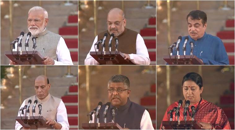 PM Narendra Modi swearing-in ceremony: Here's full list of new council of ministers