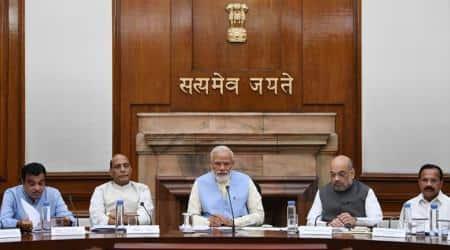 Narendra Modi, Modi cabinet, Modi govt, five-year plan, Modi five-year plan, Lok Sabha elections, NDA cabinet, BJP manifesto, BJP sankal patra