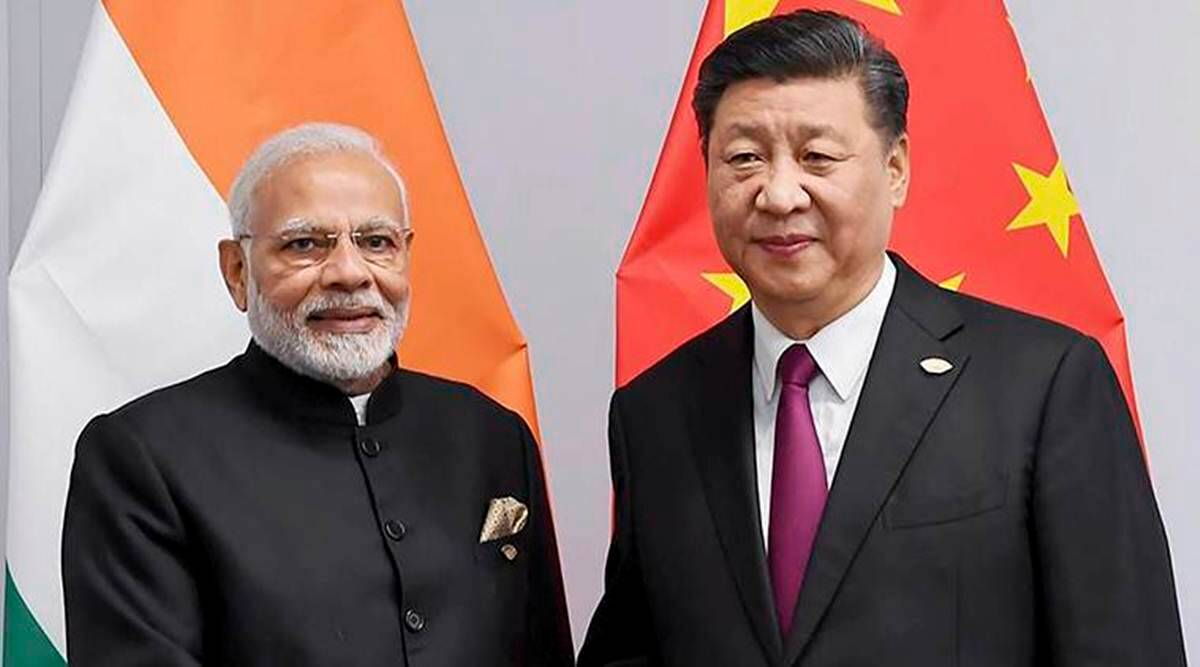 First time since border standoff, Modi, Xi on one platform