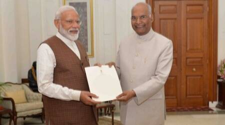LIVE updates: PM Modi meets President Kovind, stakes claim to form government