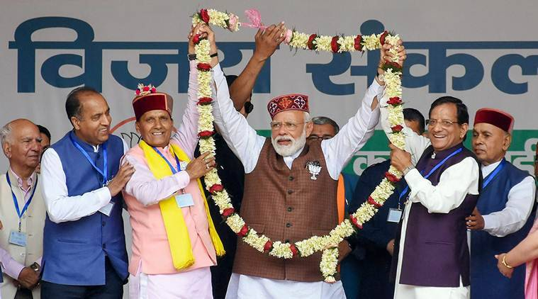 Haven't let you down in last five years: PM Modi tells Himachal voters |  Elections News,The Indian Express