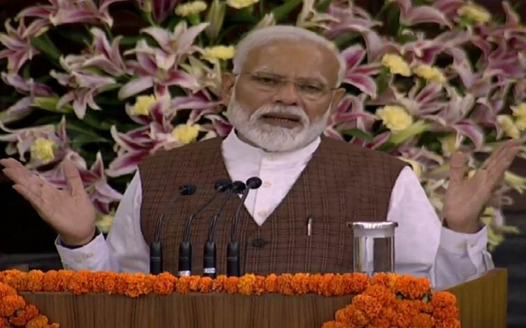Minorities made to live in fear, have to end this deception: Modi to NDA MPs