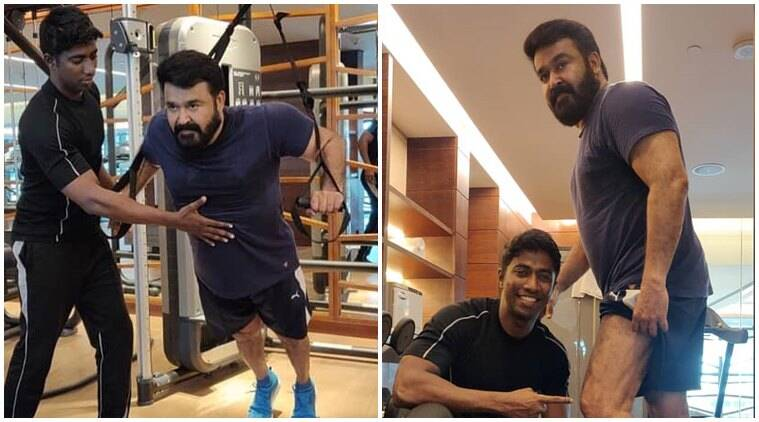 Mohanlal gym photos and videos