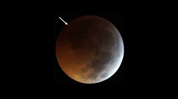 Space rock hit Moon during January's total eclipse