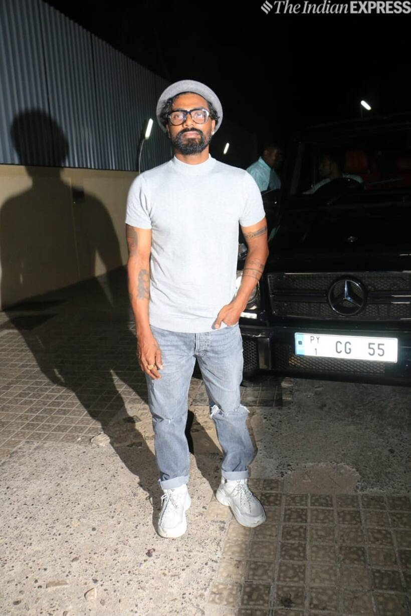 remo d souza at student of the year 2 screening