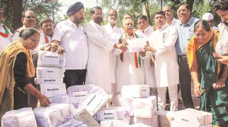 lok sabha elections, Madhya pradesh, Madhya pradesh farmers, Madhya pradesh farners, farmers loan waiver, Madhya pradesh congress, kamal nath, general elections, election news, decision 2019, lok sabha elections 2019, indian express