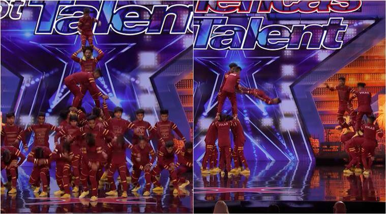 america's got talent, agt 2019, indian group on AGT 2019, V.Unbeatable, V.Unbeatable america got talent, viral dance videos, indian groups in international talent show, indian express
