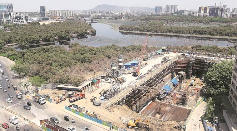 Colaba-Bandra-Seepz line: A 170-m Metro tunnel that will go right under Mithi river
