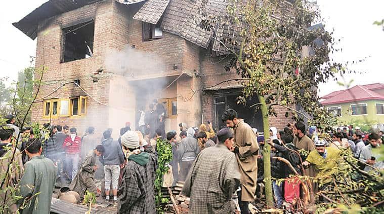 Burhan wani aide zakir musa killed in pulwama encounter tension in kashmir