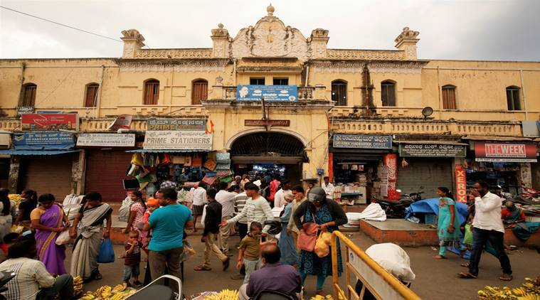 The survival of a 110-year-old market in Mysuru is uncertain
