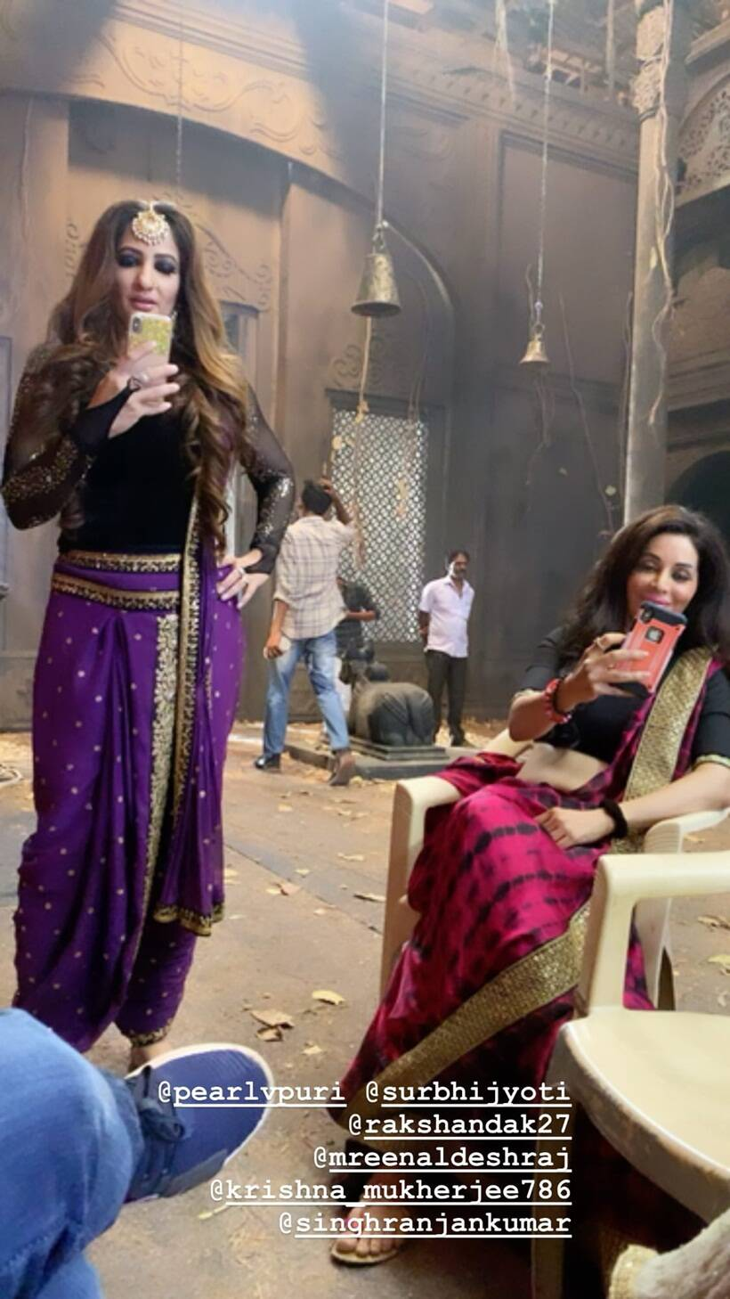 Best photos from the shoot of Naagin 3 finale
