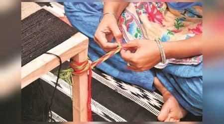 azarband, nala, traditional craft, indian express, indian express news