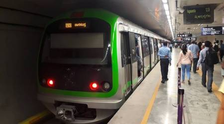 Meat in Bangalore metro, Bangalore Metro Rail Corporation Limited. BMRCL, carrying meat in metro, carrying meat in Bangalore metro, Bangalore news, Indian Express