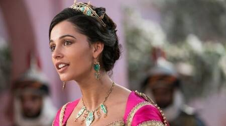 Naomi Scott aladdin interview