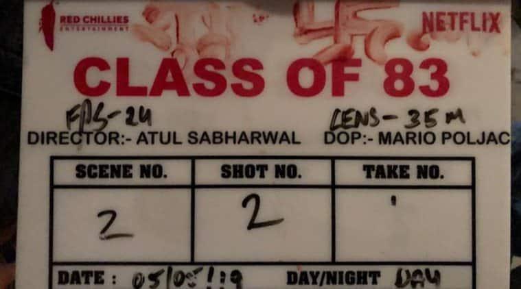 Shah Rukh Khan Netflix film Class of 83