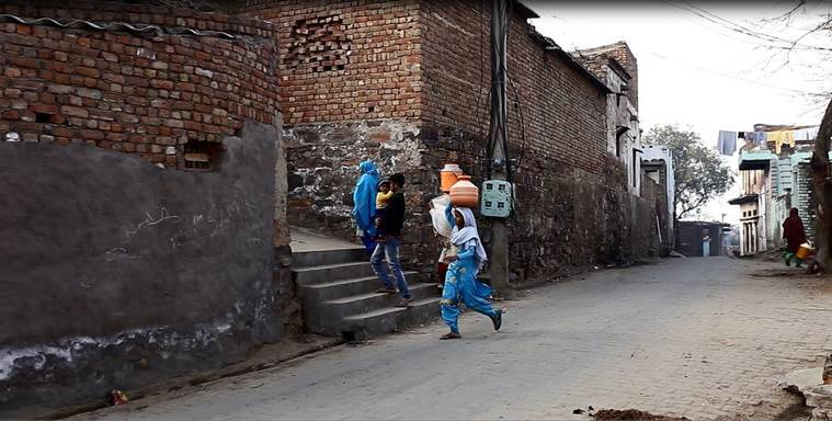elections 2019, lok sabha elections, Haryana elections, Nuh, Mewat, lynchings, lynchings in India, women voters, women voters in 2019, India news, election news, Indian Express