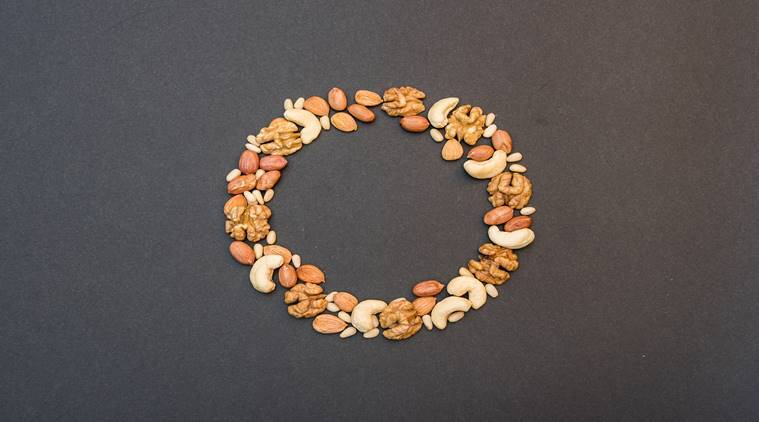 blood sugar, diabetes mellitus, nut consumption for diabetics, should diabetics consume nuts, Type 2 diabetes and nut consumption, which nuts can diabetics consume, why diabetics should not consume nuts, peanuts, almonds, walnuts for diabetics, Type 2 diabetes, blood pressure, blood sugar, hypertension, Iran study, Indian study on diabetes and nuts, cereal breakfast for diabetes, indianexpress.com, indianexpressonline, study on diabetes, indianexpress,