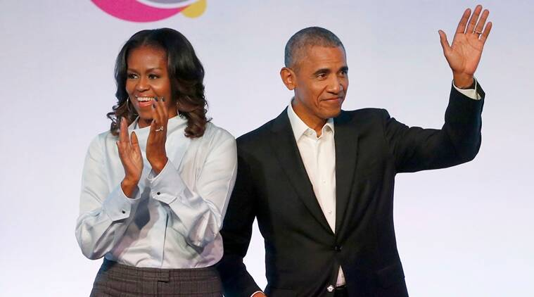 Barack and Michelle Obama sign deal to produce podcasts for Spotify