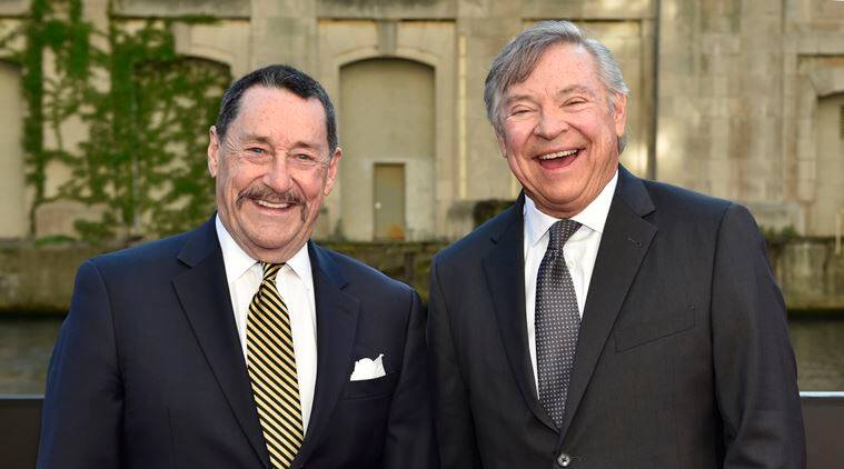 Peter Cullen and Frank Welker as autobot voices