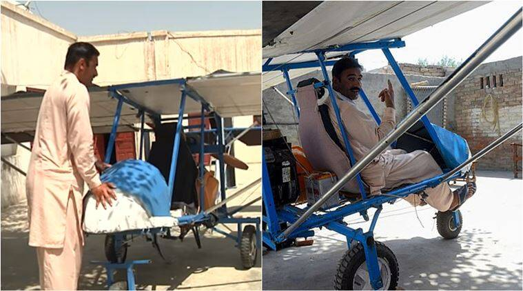 Pakistan popcorn seller waits to fly after building his own plane