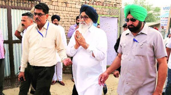 parkash singh badal, former chief minister of punjab, former punjab chief minister, nia, national investigation agency, nia court, nia court lucknow, india news, Indian Express