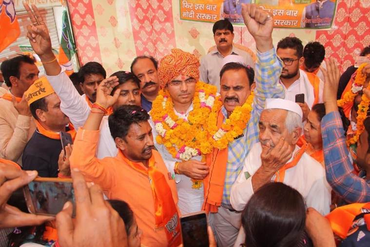 For Sahib Singh Verma's son, campaigning runs in the family