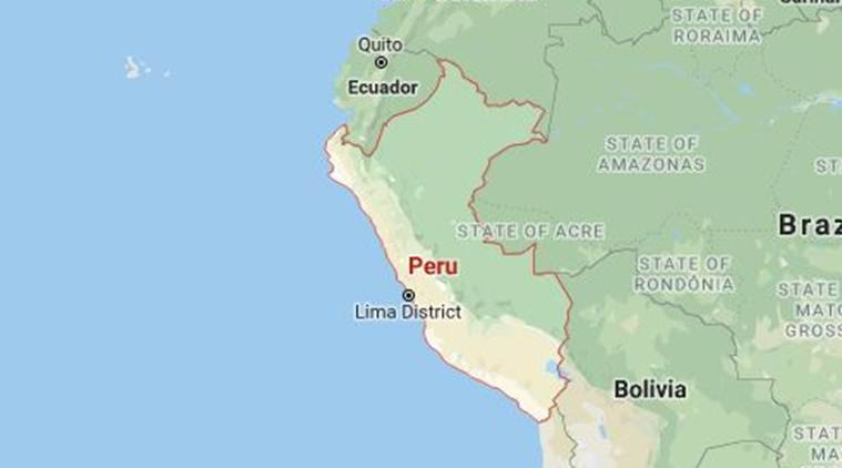 Magnitude-8 quake strikes north-central Peru