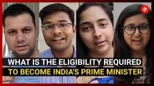 What is the eligibility required to become India's Prime Minister