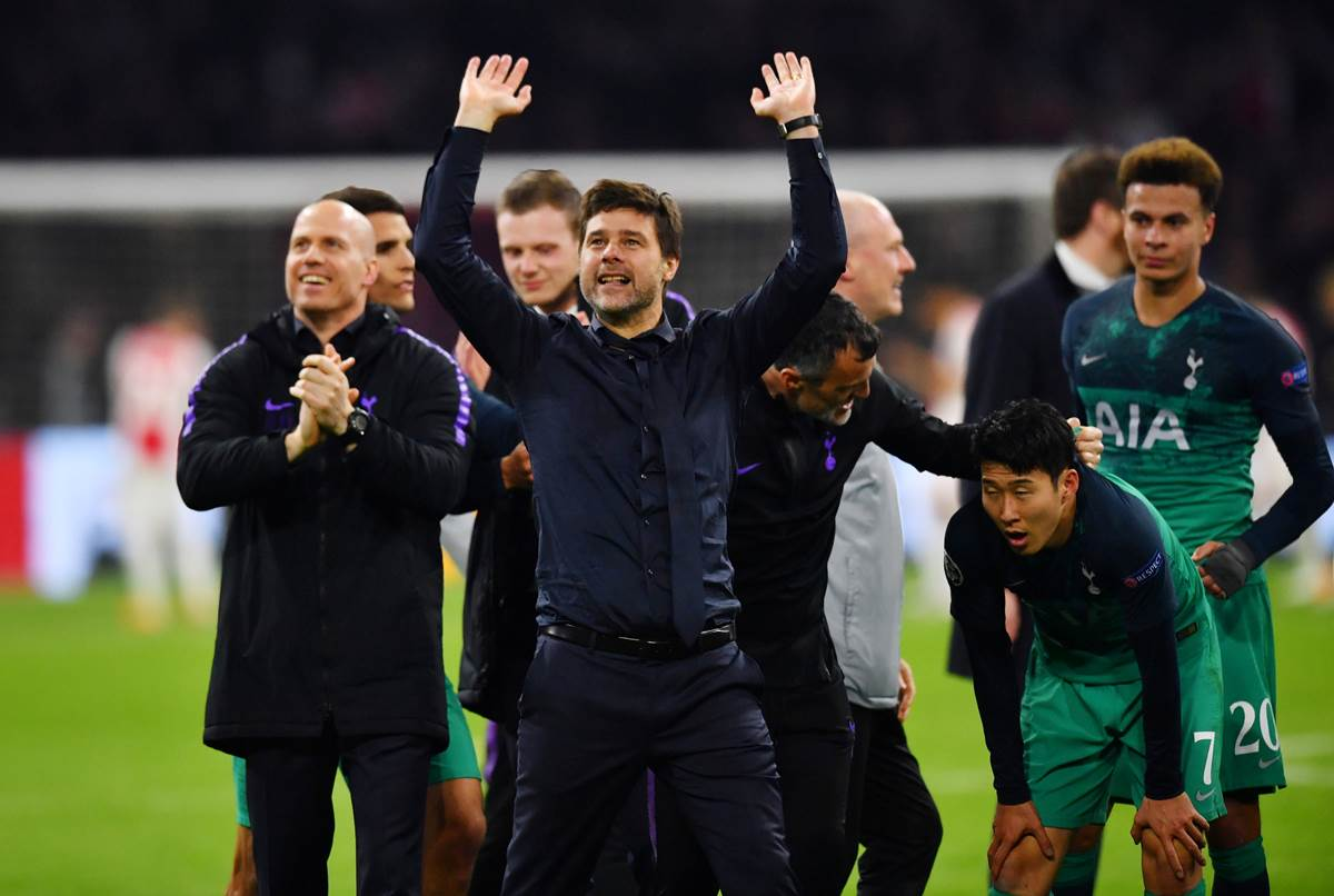 Watch Tottenham Manager Mauricio Pochettino Breaks Down After Champions League Comeback Sports News The Indian Express