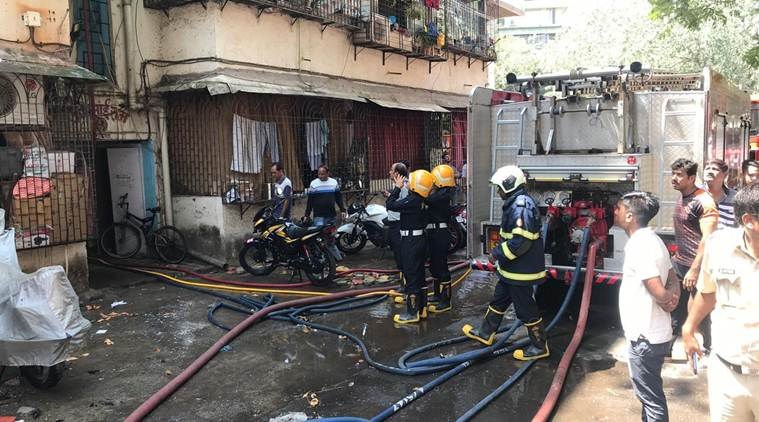 Mumbai: 10-year-old girl dies after fire breaks out in Dadar police station compound