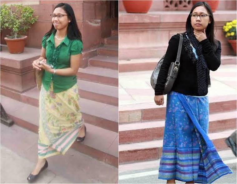 poll fashion, indianexpress.com, agatha sangma, indianexpressonline, anuradha dhawan, designer, stylish politician
