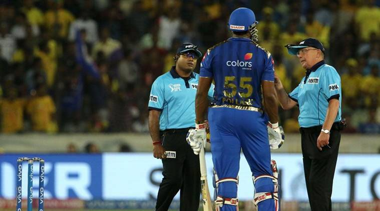 Pollard fined for showing dissent in IPL final..