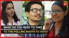 What do you need to take to the polling booth to vote?