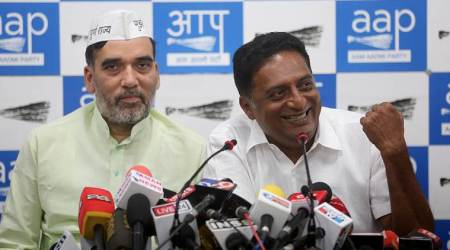 prakash raj, aap, prakash raj aap, prakash raj in delhi, lok sabha elections 2019, election news, indian express