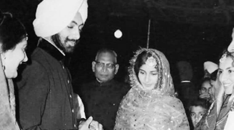 A Maharani invokes her Patiala connect — with wedding photo
