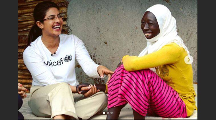 priyanka chopra, Ethiopia unicef education programme, priyanka chopra Ethiopia trip, Ethiopia child marriages, teenage girl stops won marriage, little girl fights cjild marriage, inspiring stories, indian express, viral news,