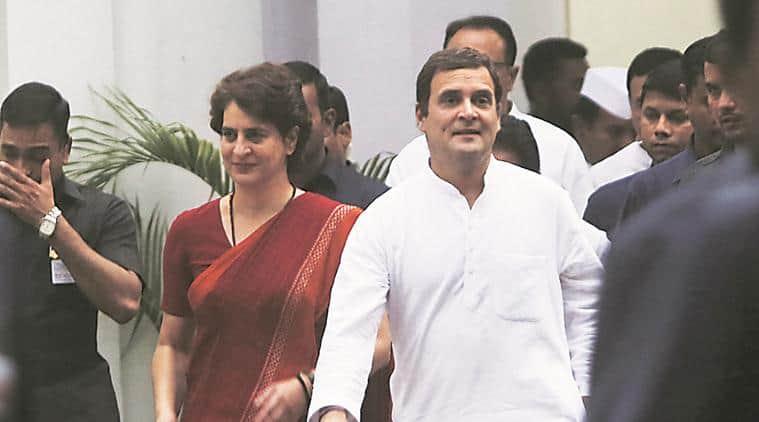 lok sabha election results, Priyanka Gandhi, Priyanka Gandhi vadra, Priyanka Gandhi congress, Congress, Rahul Gandhi, Narendra Modi, Amit Shah, election result, election results, bjp lok sabha election results