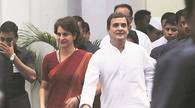 lok sabha election results, Priyanka Gandhi, Priyanka Gandhi vadra, Priyanka Gandhi congress, Congress, Rahul Gandhi, Narendra Modi, Amit Shah, election result, election results, bjp lok sabha election results