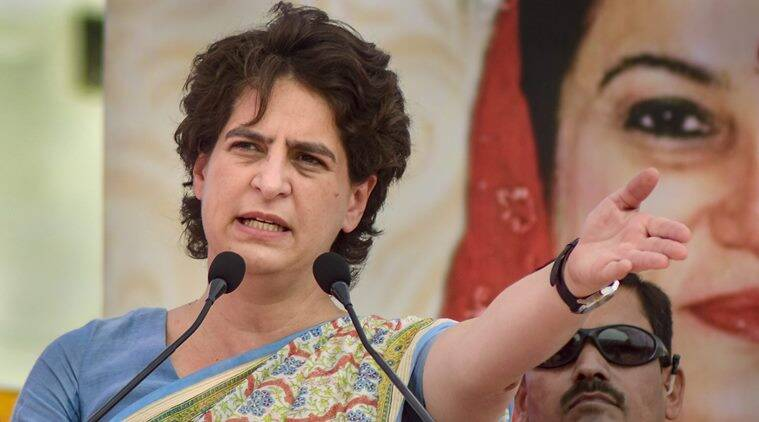 priyanka gandhi, priyanka gandhi vadra, priyanka gandhi congress, congress general secretary priyanka gandhi, up government, uttar pradesh government, yogi adityanath government, india news, Indian Express