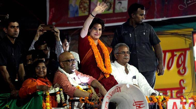 PM, BJP strong only in terms of publicity, money: Priyanka Gandhi