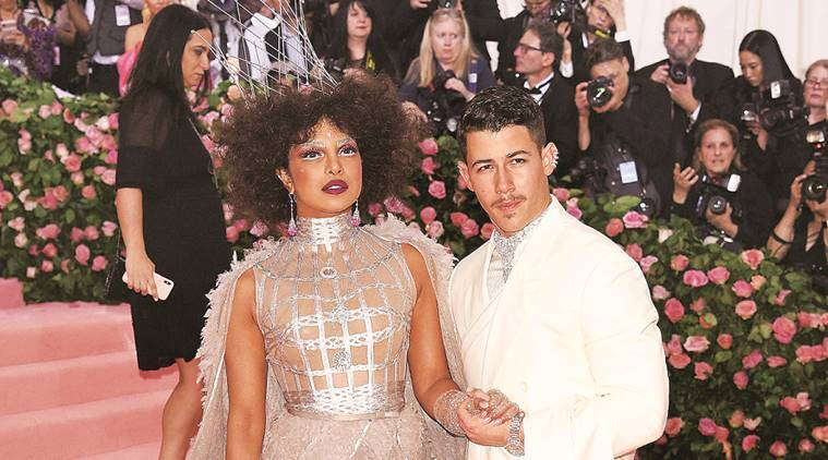 met gala, fashion, fashion and lifestyle, priyanka chopra, lady gaga, nick jonas, indian express