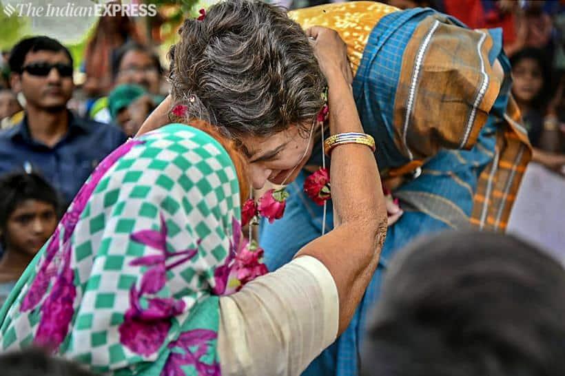 priyanka gandhi, priyanka gandhi vadra, priyanka gandhi photos, priyanka gandhi election campaign, congress up east incharge, rae bareli, lok sabha elections 2019, election news, indian express