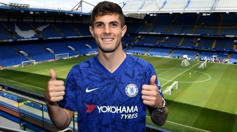 Christain Pulisic wants to emulate Eden Hazard's success at Chelsea