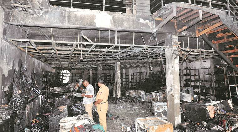 Pune: Trapped inside locked building, five workers die in fire at saree godown in Uruli Devachi