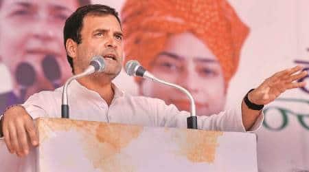 rahul gandhi addressing rally in bargari, sacrilege of the holy book, Bargari campaigning congress, Congress campaigning Punjab, Bargri village sikh sacrilege,