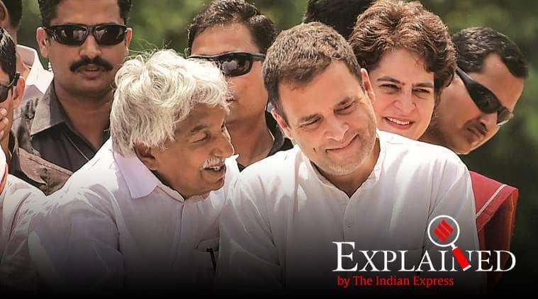 kerala, kerala cogress kerala congress win, congress win in kerala, rahul gandhi wayanad, kerala congress victory, wayanad seat rahul gandhi, indian express. lok sabha election results, kerala election results, indian express