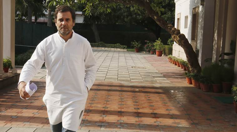 Firm on resignation, Rahul Gandhi says Congress party will decide his successor
