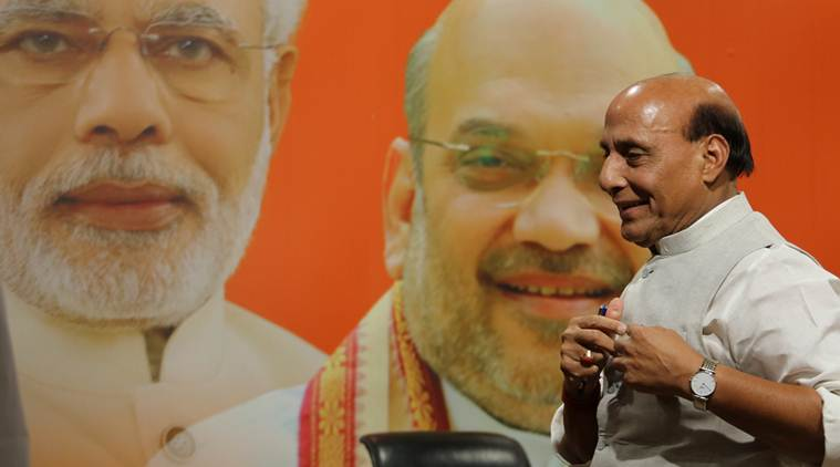 Rajnath Singh dares Opposition to declare its PM candidate