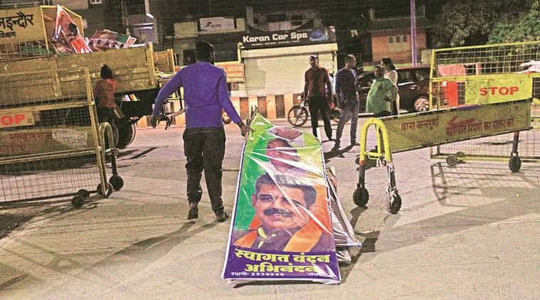 Modi rally, election rally, PM Modi, sanitary workers, safai karmchari, Swachh Bharat Mission, Indian Express, Lok sabha elections