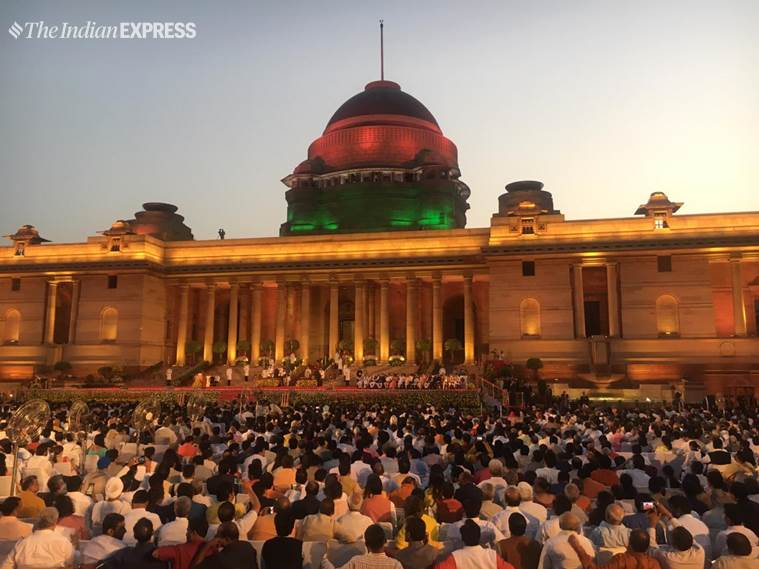 Prime Minister Narendra Modi, Narendra Modi, Narendra Modi oath, Narendra Modi swearing in ceremony, Narendra Modi oath taking ceremony